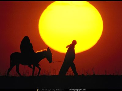 National Geographic - Sunset Africa