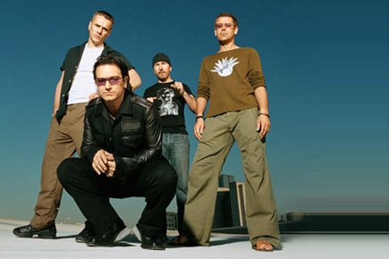 U2 Music Group Photo