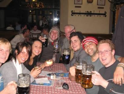Munich Beer Garden