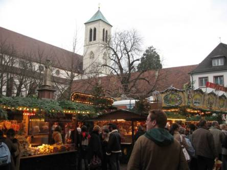 Christmas Market Freiburg Germany