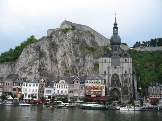 Dinant City Belgium