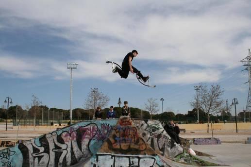 Stilts Extreme Jump