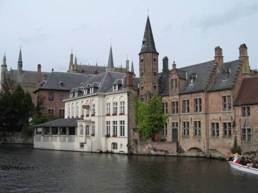 Bruges Belgium City Center