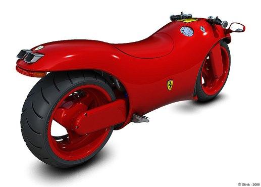 Concept Motorbike by Ferrari