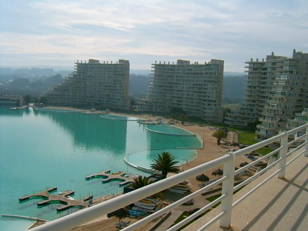 Top 10 most incredible hotel pools in the world xarj - San alfonso del mar swimming pool ...
