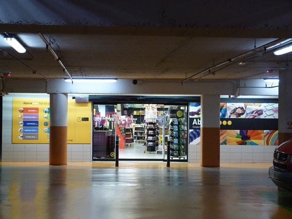 abacus parking aparcament passeig vic portal rambla