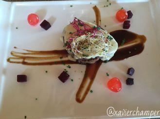 Hamburguesa de Wayú con queso