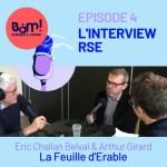 #4 L'Interview RSE – La Feuille d'Erable, responsable et pas que sur le papier !