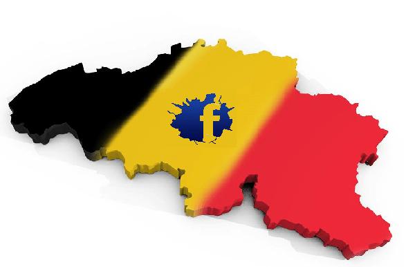 Facebook Belgique carte montage
