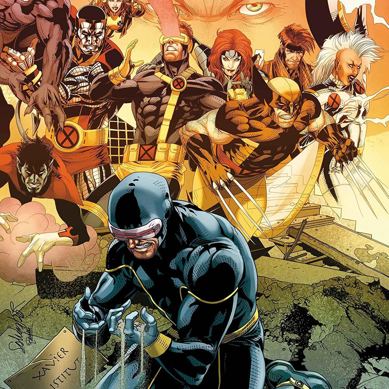 Cyclops Is Back In This Exclusive Preview Of UNCANNY X-MEN #11 - Xavier Files