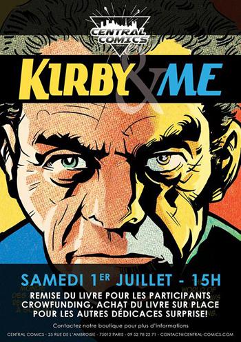 Dédicace Kirby & Me, le 1er juillet 2017