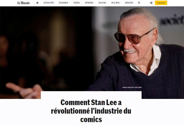 Interview dans le Monde (13/11/2018)