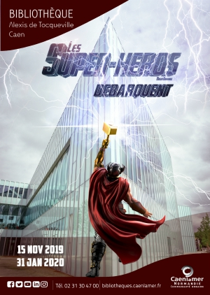 Conférence sur Les Super-héros / Caen (13/12/2019)
