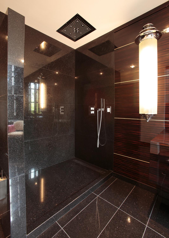 salle de bain en b ne de macassar mobilier art d co paris agencement xavier g lineau. Black Bedroom Furniture Sets. Home Design Ideas