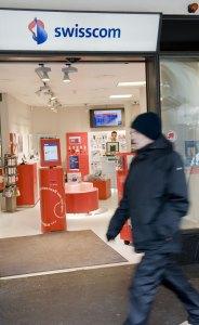 Un magasin Swisscom.