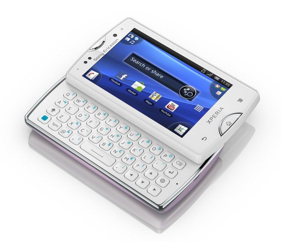 Le Xperia Mini Pro de Sony Ericsson.