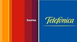 Sunrise et Telefónica collaborent en Suisse.