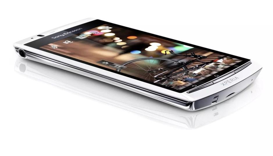 Sony Ericsson Xperia Arc S avec un processeur à 1,4 Ghz.