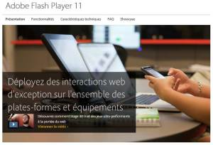 Adobe Flash va se concentrer sur le HTML5.