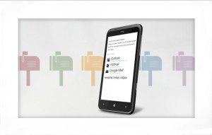 Le HTC Titan se connecte facilement à un GMail.