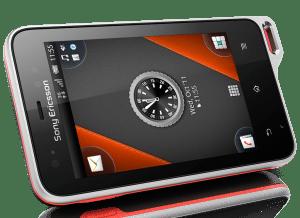 Le Sony Ericsson Xperia Active est fourni avec des accessoires pour le sport.