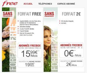 Les tarifs révolutionnaires de Free Mobile...