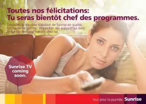 """Sunrise TV: devenir """"chef des programmes""""!"""