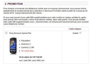 Sunrise propose deux smartphones pour le prix d'un.
