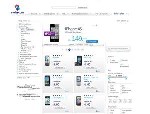 Swisscom Shop: la page 2, toujours selon les avis des consommateurs.