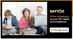 La TV selon Zattoo.