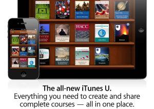 Le service iTunes U d'Apple.