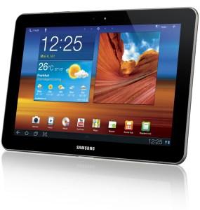 La Samsung Galaxy Tab, un des meilleurs modèles sous Android avec l'Acer Prime et la Sony S.