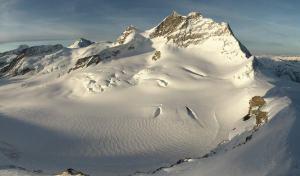 Un petit extrait d'une image produite par la webcam de Switch au Jungfraujoch