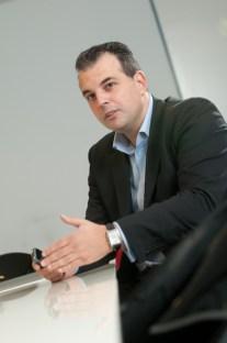 Paulo Baptista, directeur européen des ventes de BlackBerry.