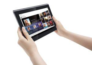 La tablette Sony S équipée d'un port infrarouge: la télécommande universelle.