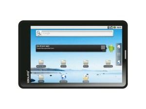 La tablette Aakash de Datawind vendue une trentaine de francs (35 dollars) en Inde.