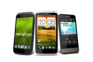 Les HTC S, X et U de la gamme One.