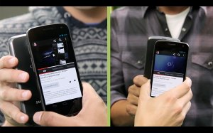 Partager des infos avec Android Beam? Super simple...