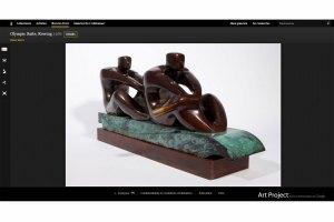 Le Musée olympique participe au Google Art Project.