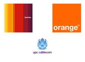 Sunrise, Orange et UPC Cablecom: les trois nouveaux mousquetaires?