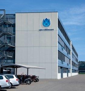 Le bâtiment d'UPC Cablecom à Yverdon.