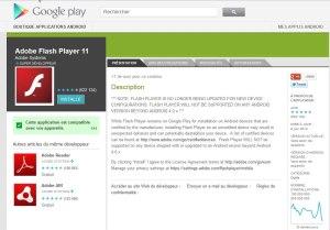 Flash sur Android: une première mort le 15 août.