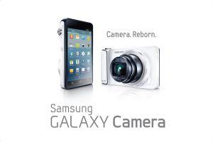 Galaxy camera sur Android.