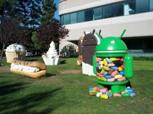 Les versions d'Android par Hugo Barra, Google.