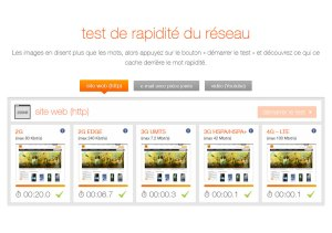 LTE: le test comparatif d'Orange.