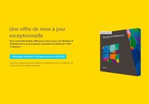 Windows 8: une mise à jour bradée...