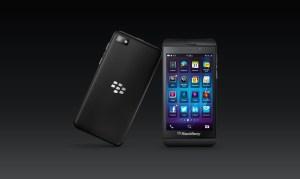 Le BlackBerry Z10 avec le système 10.