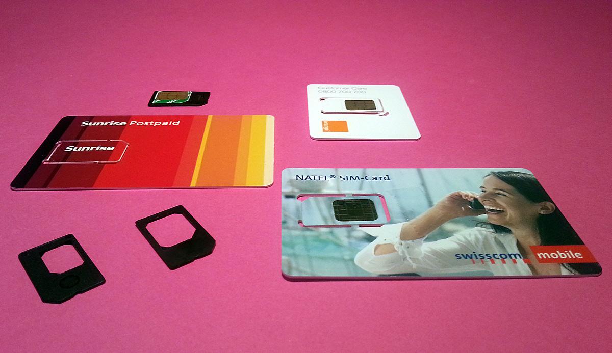 La carte SIM: le meilleur ami de l'opérateur... N'hésitez pas à supprimer le SIM-Lock!