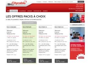 Les offres combinées du téléréseau lausannois Citycable.