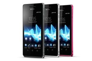 Le Sony Xperia V: 4G / LTE.